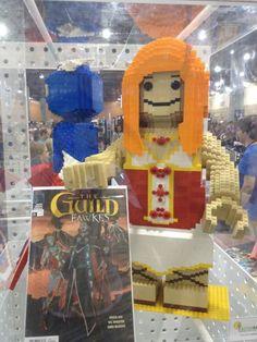 LEGO Statue Felicia Day! #lego #legostatue #legomodel #feliciaday #toy #toys
