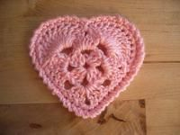A Valentine's Day heart with pattern