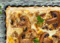 Mushroom and Parmesan Tart