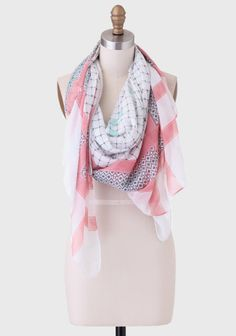 Mix It Up Printed Scarf at #Ruche @Ruche