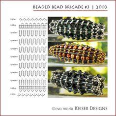 * Eva Maria Keiser Designs: Beaded Bead Brigade #3 | 2003
