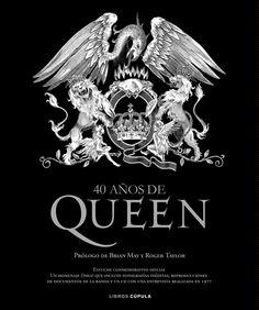 Queen 40 años. Book.
