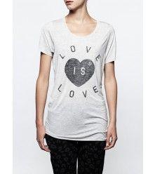 ZOE KARSSEN - LOVE IS LOVE - GREY HTR