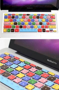 LEGO Keyboard Decal