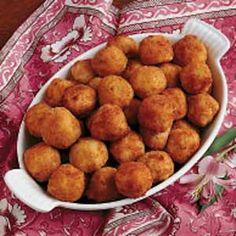 Sauerkraut Ham Balls