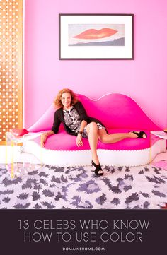 13 Celebs Who Know How to Use Color