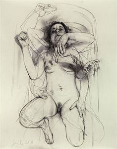 drawing by Jenny Saville