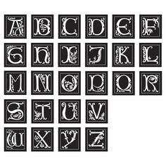 Monogram Picture Frames.