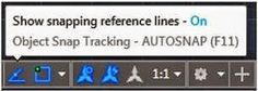 AutoCAD/LT 2015–Object Tracking with Mirror Command