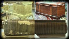 refinishing Lane cedar chest