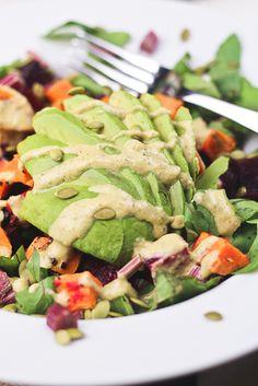 foodies, healthi foodi, roast beet, potato salads, avocado, potatoes, easi recip, potatosalad, sweet potato