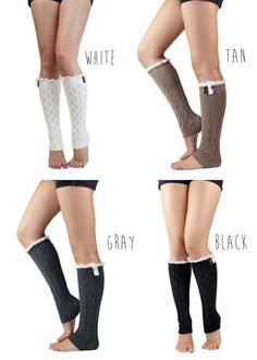 LACE LEG warmer boot socks boots with leg warmers, leggings with boots and socks, boots with socks, cloth, lace leg, legs, white lace, boot socks, warmer boot