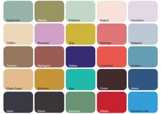 Spring/Summer Colors 2012
