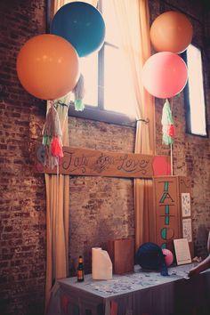 Wedding activity: Tats for love - Handcrafted Brooklyn Wedding by Joyeuse Photography - via ruffled