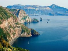 """1. Lipari, Italy Lipari The best views of the dramatic island and its six Aeolian neighbors are from Quattrocchi (""""four eyes"""") just west of the main town. The gorgeous Gattopardo Park Hotel, once an eighteenth-century villa, has rooms overlooking the ancient acropolis and medieval Castello."""