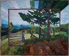 Art Quilts Landscapes | Art Quilts: The Embellished Landscape (OnDemand) « The Jacksonville ...
