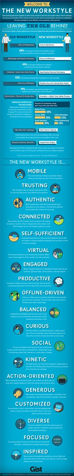 The New Work Order? How Successful Startups and Companies Approach Work and Social Businesses #infographic #enterprise