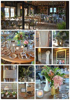A Wedding Reception....rustic, elegant, perfection