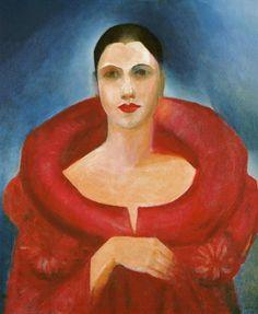 1923 Tarsila do Amaral (Brazilian artist, 1886-1973) Self Portrait