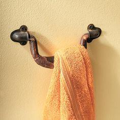 Luggage Handle Towel Holder.