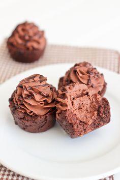 Mini Chocolate Cookie Cups #glutenfree #grainfree #paleo