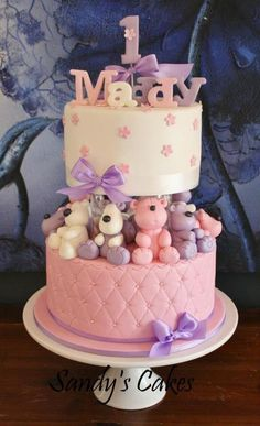 Cake by Sandy's Cakes.