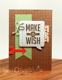 My Creations: Hip Hip Hooray met Perfect Pennants and Simple Celebrations, hip hip hooray, stampin' up!