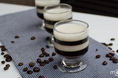 Espresso jello shots, step by step photo recipe jello shots, step photo, energy foods, dessert recipes, photo recip, drink, jelloshot, layered desserts, espresso jello