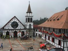 La iglesia y sus alrededores...:D mi mapamundi, travel list, venezuela querida, colonia tovarvenezuela