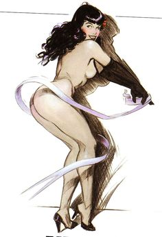 Bettie Swirls by Jim Silke