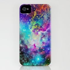 Fox Fur Nebula iPhone Case by Starstuff - $35.00