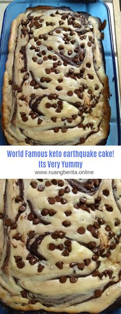World Famous keto earthquake cake! Its Very Yummy #Dessert#Keto#Cake