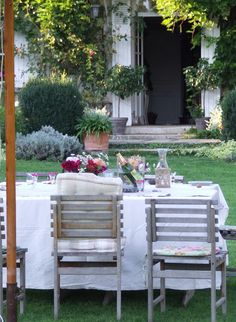 french living, french country homes, french live, outdoor living spaces, french countri