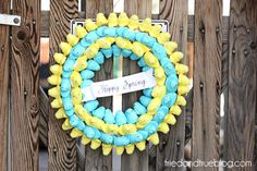 Peeps Easter wreath- 15 Easter Crafts, Activities, and Treats for Kids I Easter Ideas for Kids - ParentMap