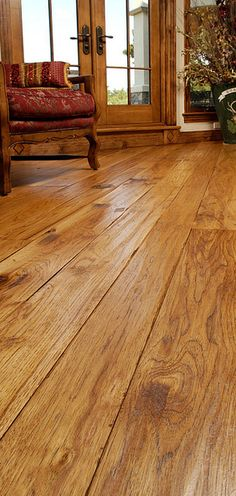 hickory flooring.. I think this is probably the one we will go with. A friend has this and we are going over to see it. I really think this one is it. I want the wide boards.