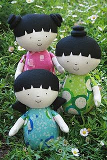 I love this doll pattern!!