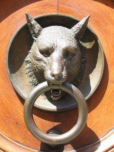 animal door knocker