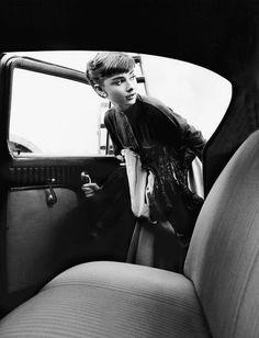 Audrey en route