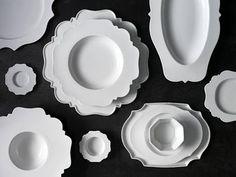 white tableware  Paola Navone