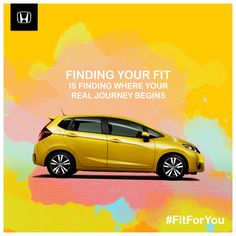 Finding your fit is finding where your real journey begins. Where will your passion take you? #FitForYou