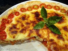 Fresh Eggs Daily®: Summer Fresh Tomato Pie