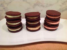 Homemade Oreos - 3 Ways!