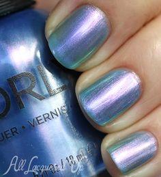 color, angel rain, nail polish orly, rain nail, nail polish swatches