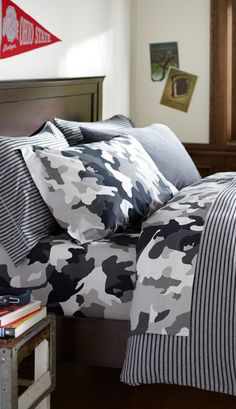 Tonal Stripe #boys Bedding
