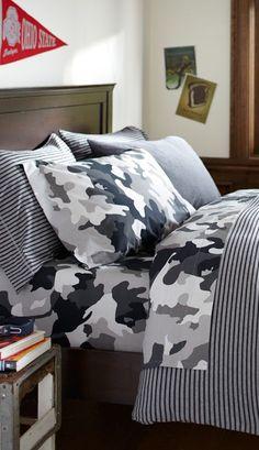 Tonal Stripe #boys Bedding