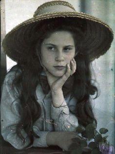 U.S. Katherine, Alfred Stieglitz's daughter, 1907 // Alfred Stieglitz