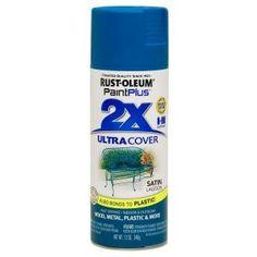 Rust-Oleum Paint Plus 12-oz. 2x Spray Satin Lagoon Primer-265151 at The Home Depot