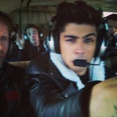 Zayn Malik (Liam in the back haha)