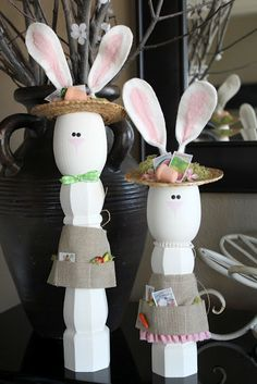 Diy crafts table legs easter