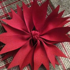 Hairbow hairbow idea, ribbon flower